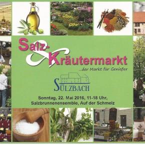 3. Salz – & Kräutermarkt in Sulzbach