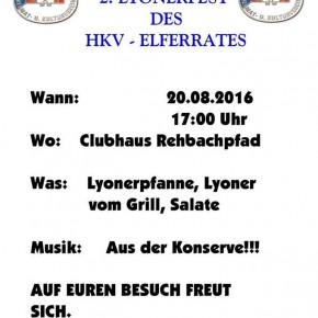 2. Lyonerfest des Elferrates im Heimat- und Kulturverein Dudweiler-Nord
