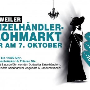 Einzelhandel-Flohmarkt am 07.10.2016