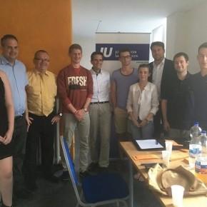 Neuer Ortsverband der Jungen Union in Dudweiler gegründet: Felix Strassner Ortsvorsitzender