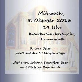 Konzert in der Kreuzkirche Herrensohr
