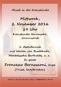 2. Musik in der Kreuzkirche