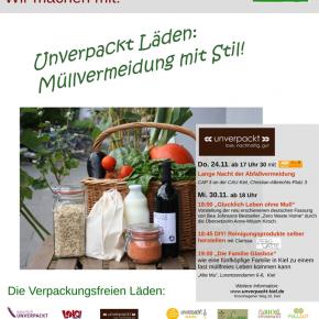 Workshopangebot bei UNVERPACKT Saarbrücken