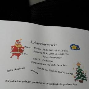 Weihnachtsmarkt in der Fingerhutstraße: Unterstützung für den Kinder-Hospizdienst Saar