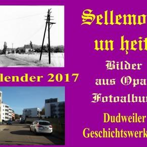 Wandkalender 2017 der Dudweiler Geschichtswerkstatt