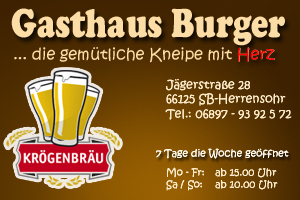 Gasthaus Burger in Dudweiler-Herrensohr