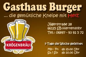 Gasthaus Burger in Dudweiler-Herrensohr