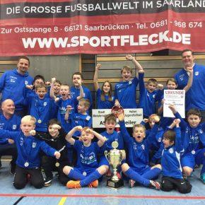ASC Dudweiler Jugendfußball: Erfolgreich bei der Endrunde zur Stadtmeisterschaft
