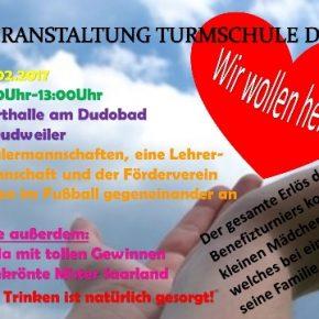 Brandunglück in Elm: Benefizturnier der Turmschule Dudweiler