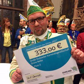 Belohnung für Volker Herrmann
