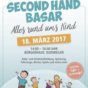 Second-Hand-Markt für Kindersachen im Bürgerhaus