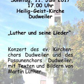 """""""Luther und seine Lieder"""""""