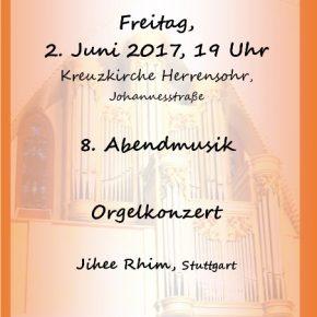Kreuzkirche Herrensohr: 8. Abendmusik