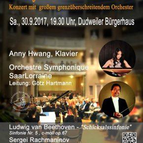Heimspiel der Ausnahmepianistin Anny Hwang im Bürgerhaus