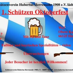 Schützenverein Hubertus: Oktoberfest 2017