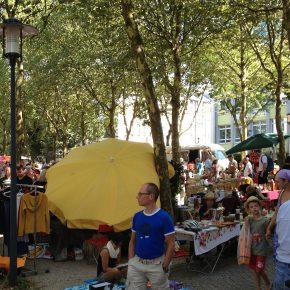 Nachbarschaftsflohmarkt im Nauwieser Viertel