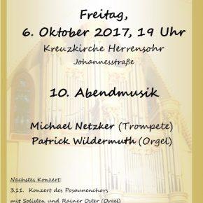 10. Abendmusik in der Kreuzkirche