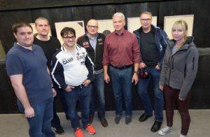 Foto: Iris Maurer, Abgebildete: v.l. Thomas Schmidt, Stefan Allenbach, Benito Verre, Thomas Püschel, Thomas Blaskewitz, Michael Meng und Anne Allenbach.