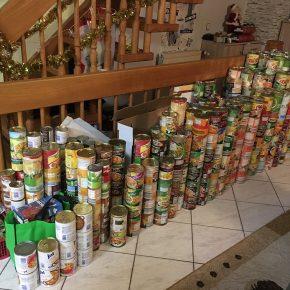 650kg Lebensmittel für die Saarbrücker Tafel