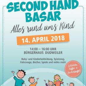 Second-Hand-Basar für Kindersachen im Dudweiler Bürgerhaus