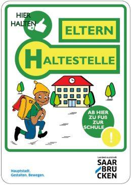 Elternhaltestelle. Quelle: Landeshauptstadt Saarbrücken