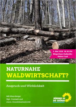 Waldflyer - Naturnahe Waldwirtschaft