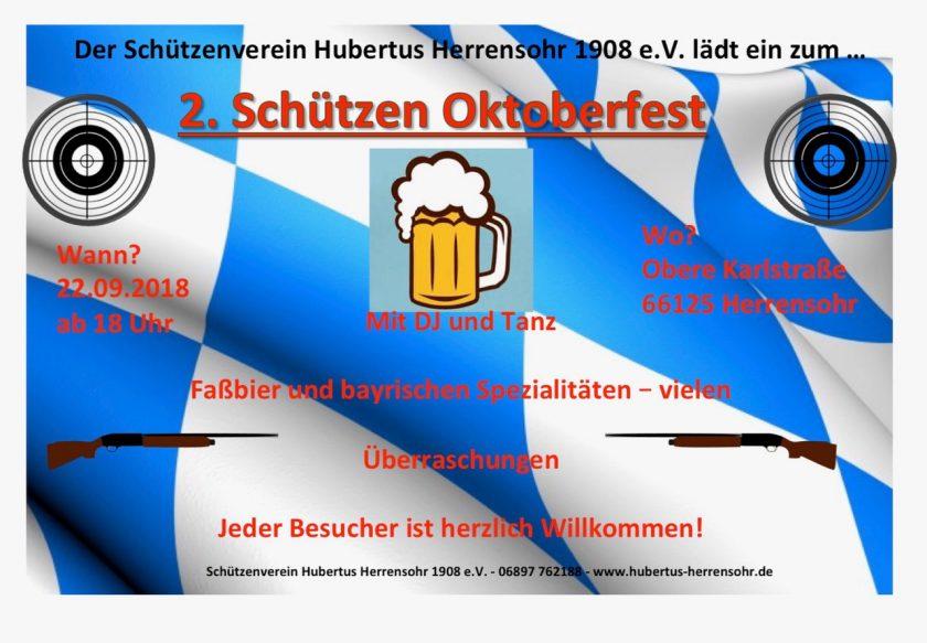 2. Oktoberfest Schützen Herrensohr
