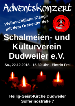 Schalmeien Adventskonzert 2018