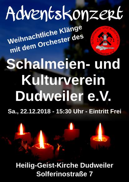 Schalmeien Adventskonzert 2018