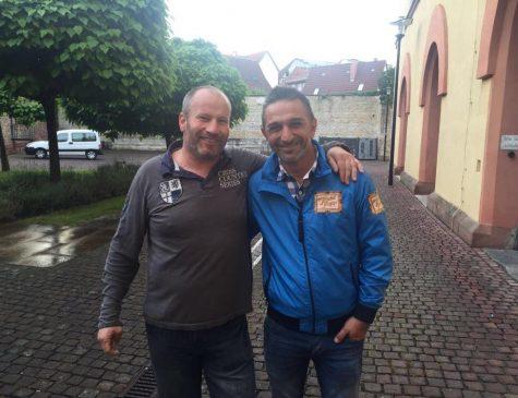 """links: Dirk Weisgerber, rechts: Mauro Corradino aus der Sendung """"Trödel Trupp"""""""