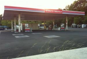 Automaten-Tankstelle in Dudweiler Nord