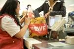 Einkaufen bei Rewe