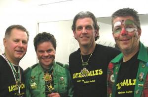 Die Latzegallies (v.l.n.r.): Gerhard Spengler, Andreas Britz, Andy Becker, Rüdiger Degen (Foto: privat)
