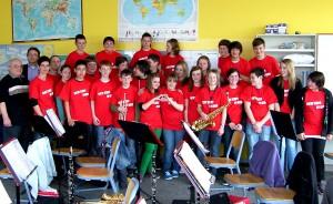 Bläserklasse der Gesamtschule (Foto: privat)