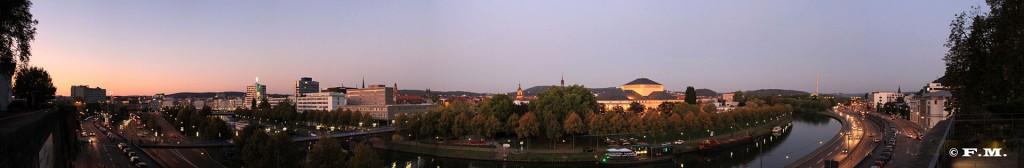 Panorama-Blick auf Saarbrücken (Foto: Fabian Meyer)