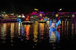 Saarspektakel bei Nacht (Foto: Saar-Spektakel)