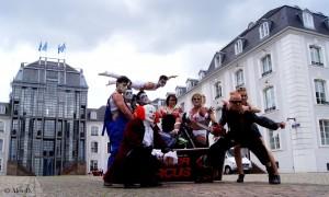 Ensemble des Horro Circus in Saarbrücken (Foto: Veranstalter)