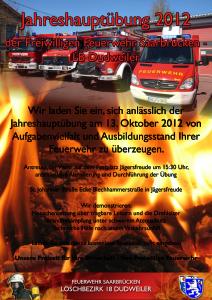 Plakat_Hauptübung_2012