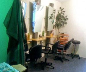 Klein, aber fein: Das neue Frisörstudio von Silke Nonnweiler im Alten Stadtweg. (Foto: Silke Nonnweiler)