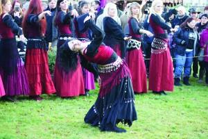Darsteller auf dem Mittelaltermarkt (Foto: Veranstalter)