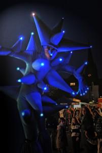 Die Nanus erleuchten das Fest (Foto: Markus Döring/Veranstalter)