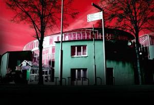 Ganz schön gruselig, unser Bürgerhaus (Foto: Thomas Braun)