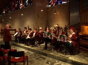 Adventskonzert 2012 in  der Dudweiler Heilig-Geist-Kirche (Foto: Verein)