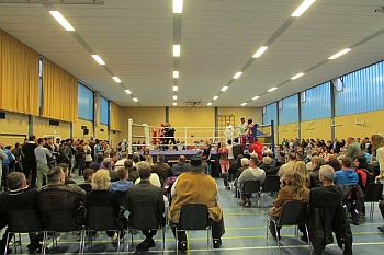 Bild vom Boxturnier 2013 Foto: Ahmet Özcan