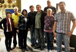 Der neue Vorstand des ASC Dudweiler (Foto: Verein)