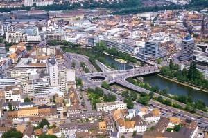 Luftaufnahme von Saarbrücken (Foto: Landeshauptstadt Saarbrücken)