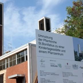 Umbauarbeiten in St. Bonifatius (Planung berwanger: architektur gmbh)