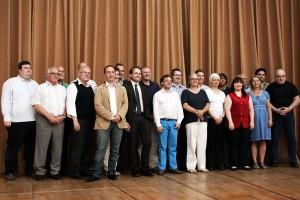 Der neu gewählte Dudweiler Bezirksrat (Foto: Thomas Braun)