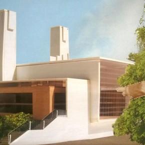 Entwurfsplanung für das neue Mehrzweckgebäude. (Planung berwanger: architektur gmbh)