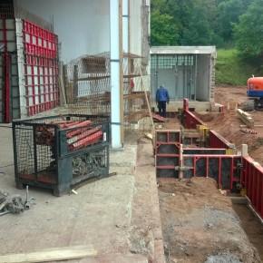 Umbauarbeiten in St. Bonifatius (Foto: Klaus Kirch)